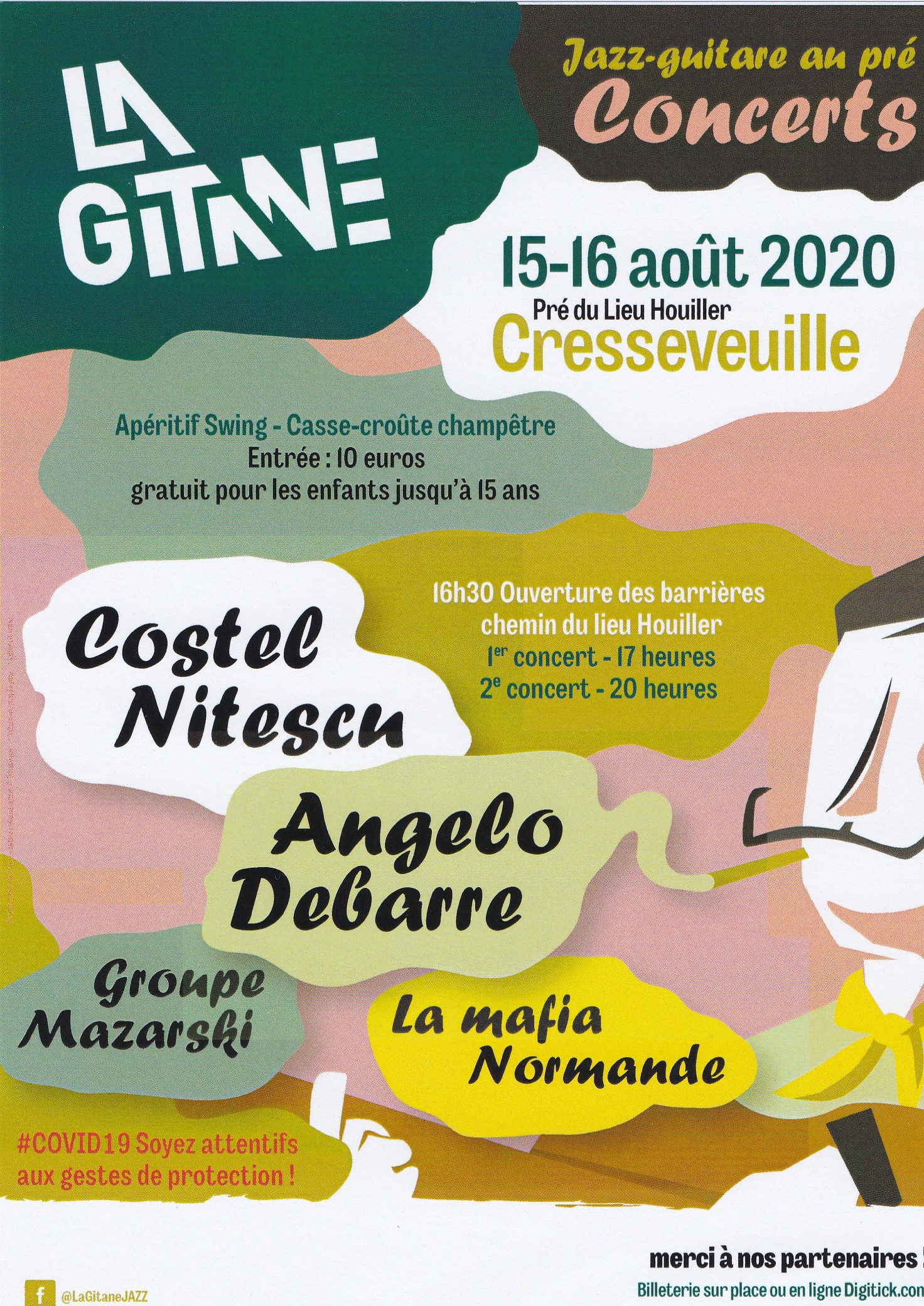 La Gitane, concerts au pré !